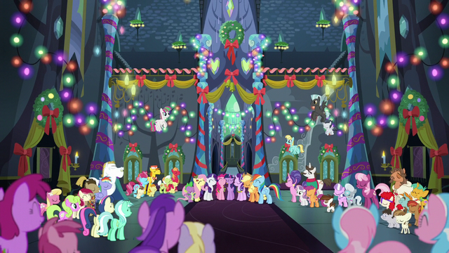 File:Ponies sing together in the Castle of Friendship S6E8.png