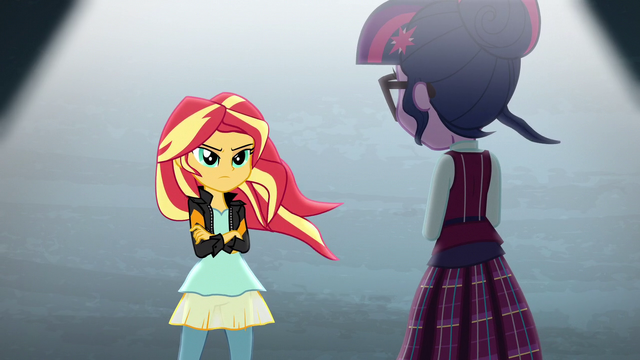 File:Sunset faces Twilight Sparkle EG3.png