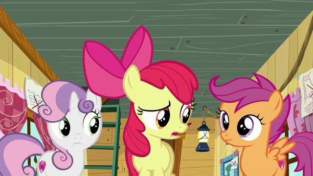 """File:Apple Bloom """"Didn't what?"""" S6E4.png"""