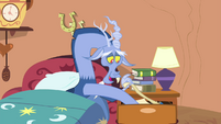 Discord getting something from the drawer S4E11