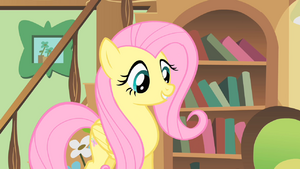 Fluttershy happy to help a mouse S1E22.png