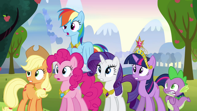 File:Twilight and friends shake their heads S03E10.png