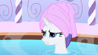 Rarity rolling eyes S1E20