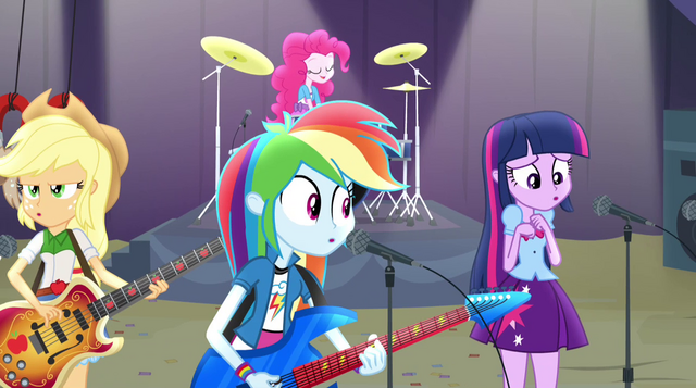 File:Rainbooms slowly falling apart on stage EG2.png