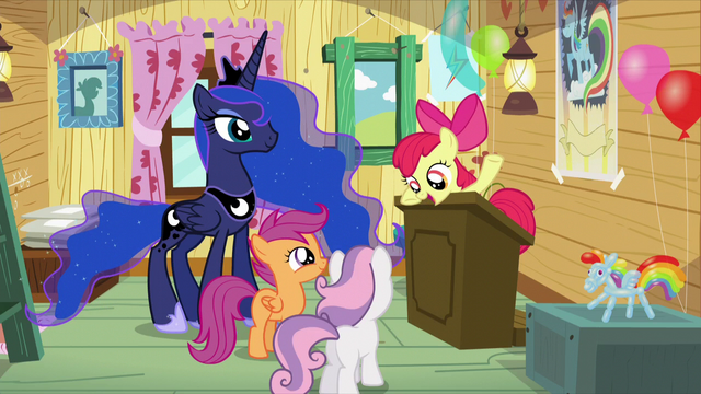 "File:Apple Bloom ""just because she isn't a Crusader"" S5E4.png"