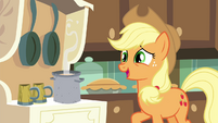 "Applejack ""I'm sure there's plenty apples"" S4E18"