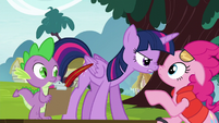 "Twilight snaps ""absolutely not!"" S5E22"