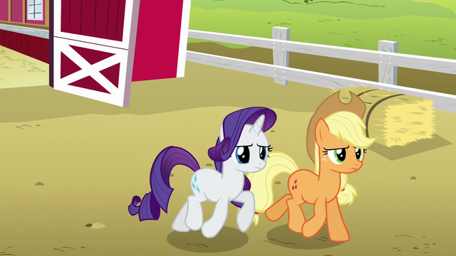 File:Applejack and Rarity follow Rainbow and CMC S6E15.png