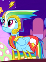 Rainbow Dash bad Gala outfit ID S1E14