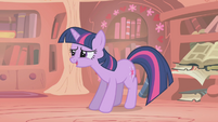"Twilight ""how'd it go with Rarity?"" S1E06"