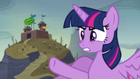 "Twilight ""you planted ponies in that cake?!"" S5E23"