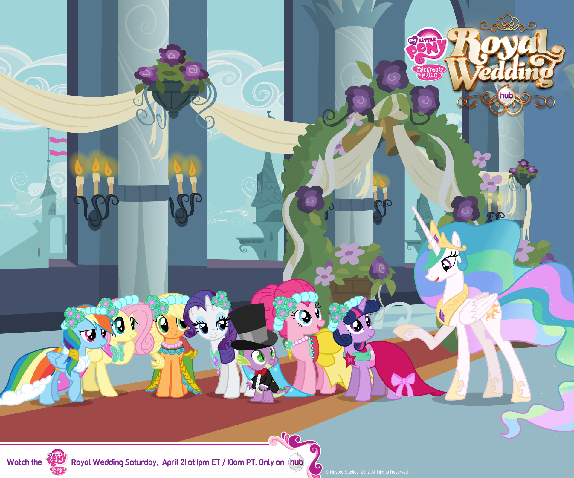 Image Canterlot Wedding Wallpaper My Little Pony