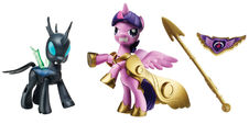 Guardians of Harmony Princess Twilight Sparkle and Changeling figures