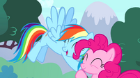 """Rainbow """"no pony could ever take your place"""" S4E12"""