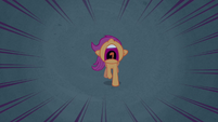 Scootaloo running for the branches S3E06