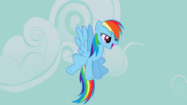 File:Rainbow Dash about to go off and search for the signs of disaster S2E20.png