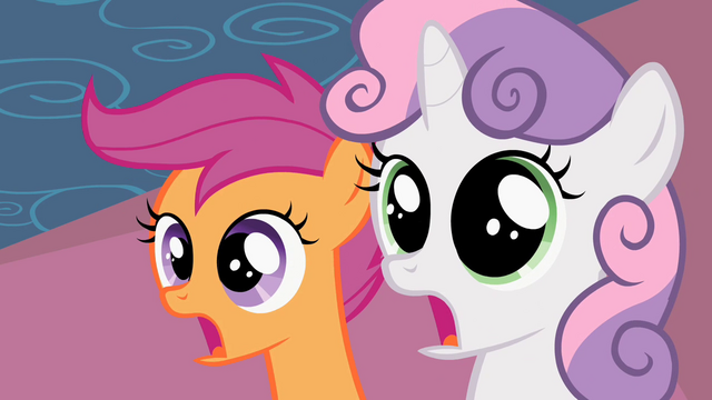 File:Scootaloo & Sweetie Belle Shock S2E6.png