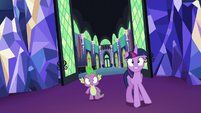 Twilight and Spike find Rarity S5E16