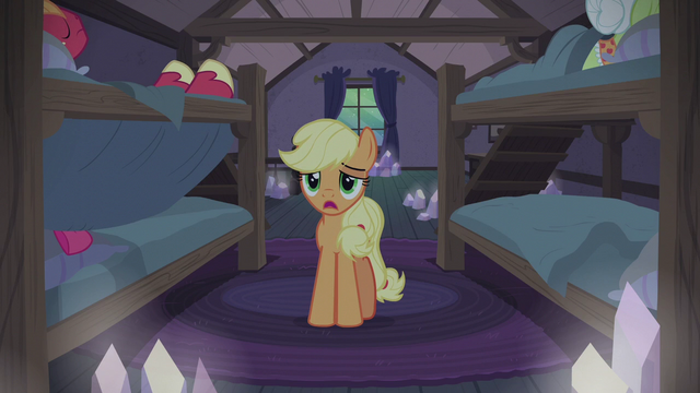 "File:Applejack ""I know they have their traditions"" S5E20.png"