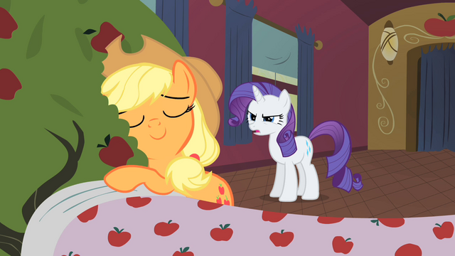 File:Applejack hugs Bloomberg S01E21.png