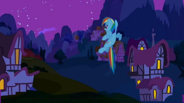 File:Rainbow Dash giving up on chasing Nightmare Moon S1E02.png