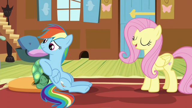 "File:Fluttershy ""He's just going to hibernate"" S5E5.png"