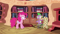 Spike explains genealogy S4E09