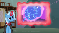 Trixie showing a flashback of her with the Ursa Minor S3E5
