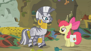 Zecora and Apple Bloom S01E09