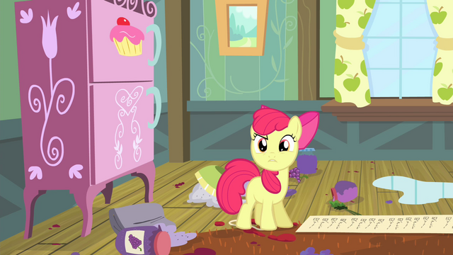 "File:Apple Bloom ""Just look!"" S4E17.png"