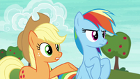 "Applejack ""Ponyville is countin' on a win"" S6E18"