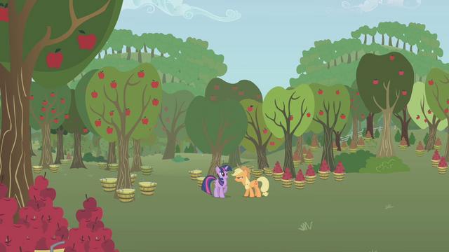 File:Applejack snaps at Twilight S1E04.png