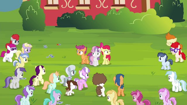 File:Crowd of foals walking towards the CMC S4E15.png