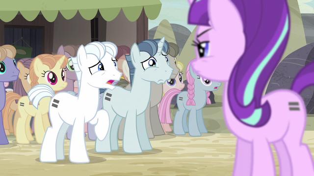 "File:Double Diamond ""you said cutie marks were evil!"" S5E2.png"