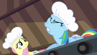 Rainbow Dash quit talking S2E14