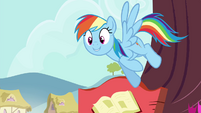 "Rainbow ""in a flash?"" S4E21"