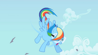 Rainbow Dash shaking S2E03