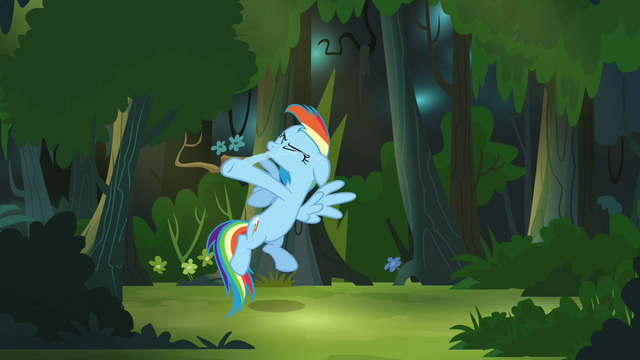 File:Rainbow Dash smacks herself again S4E04.png
