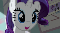 Rarity feeling inspired again S5E14