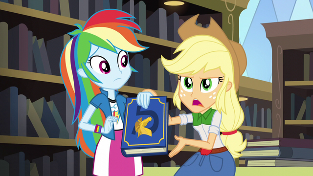 "File:Applejack ""kinda hard to get along with"" EG3.png"