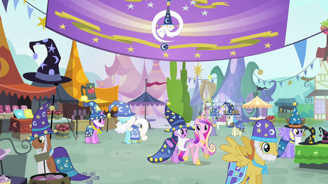 File:Twilight and Cadance walking together S4E11.png