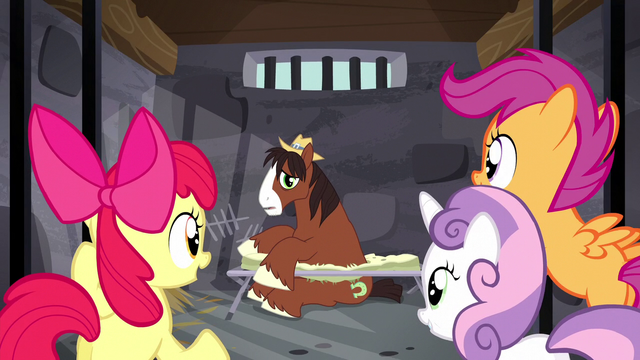 File:Crusaders unlock Trouble Shoes' jail cell S5E6.png