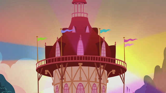 File:Ponyville town hall lighting up S5E9.png