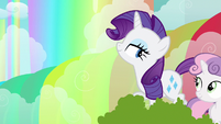 Rarity happy eyed S3E6