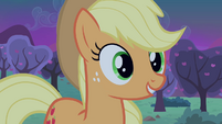 "Applejack ""Apple Bucking Day, take two"" S4E07"