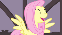 Fluttershy singing happily S4E14