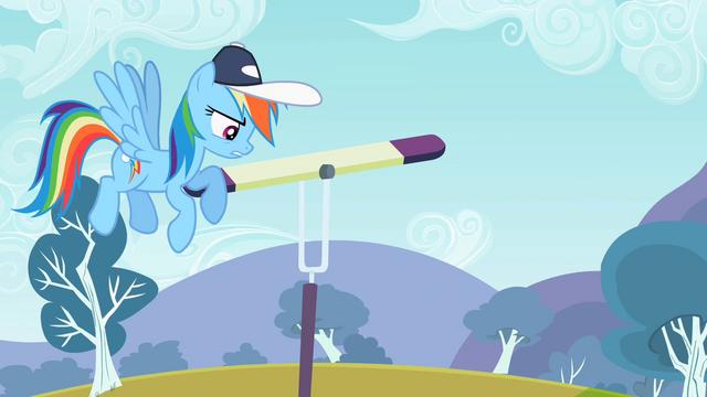 "File:Rainbow Dash ""Not agile"" S2E07.png"