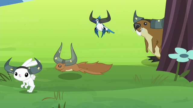 File:Animal critters wearing antlers S5E11.png
