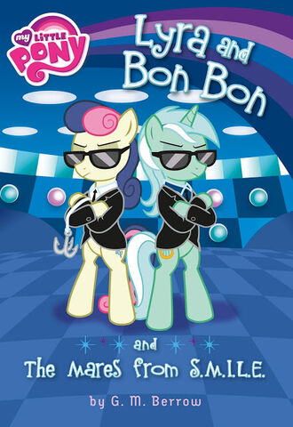 File:Lyra and Bon Bon and the Mares from SMILE book cover.jpg