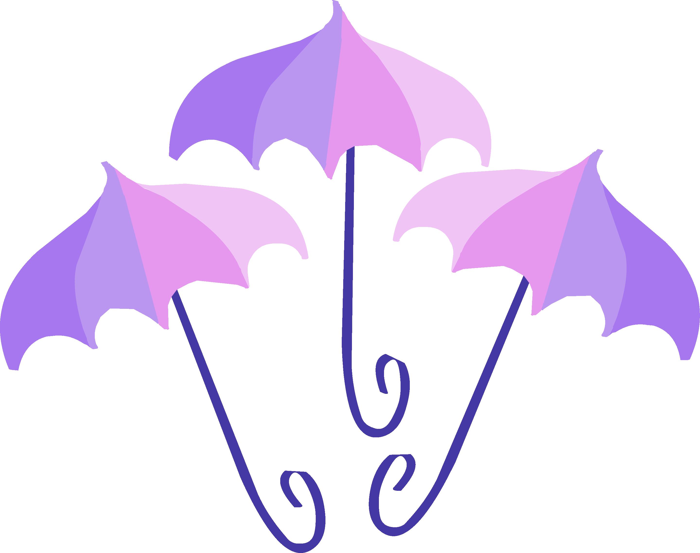 Pink Umbrella Clip Art Cutie mark PonyMaker Umbrella